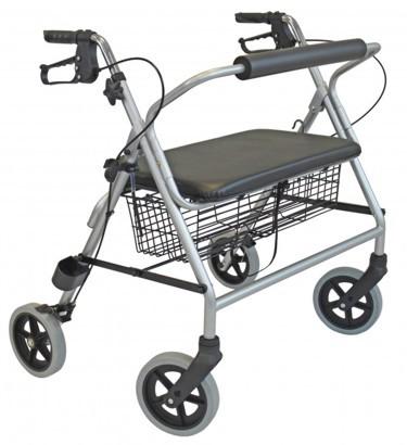 Rollator für hohe Belastbarkeit - 225 kg