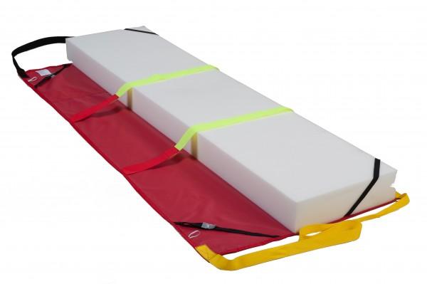Rettungstuch / Evakuierungstuch SRT 210 SP nach DIN 4102/B1 mit Klettband oder Gurtscchnallen