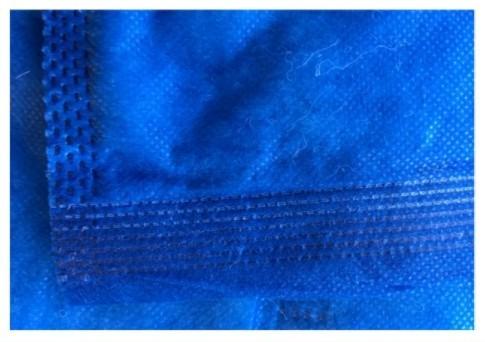 36 Stk. - Einmal-Decke 500 BWP (Baumwoll-Polyester Füllung)